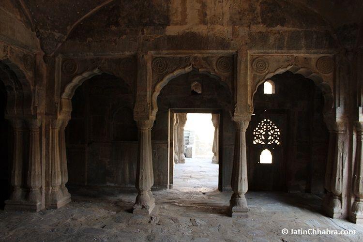 Complex inside Baori