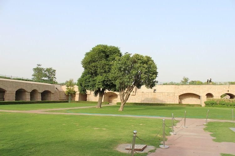 Gandhi's Samadhi Garden