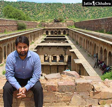 Jatin Chhabra. The Stepwell Traveller