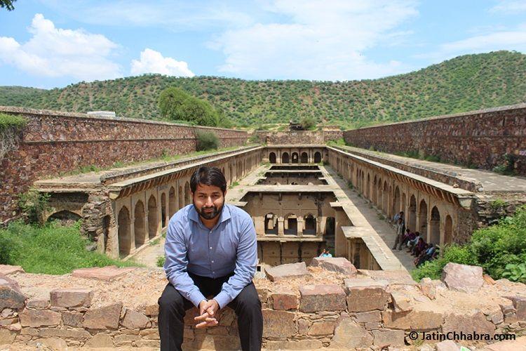 Jatin Chhabra at Neemrana Baoli