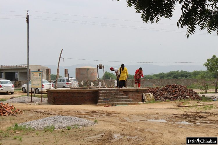 Bhagat Dhanna Gurdwara Well