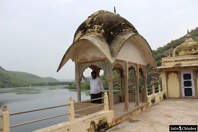 View of jait Sagar from Sukh Mahal