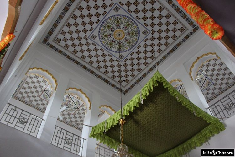 Ceiling View of the Gurdwara