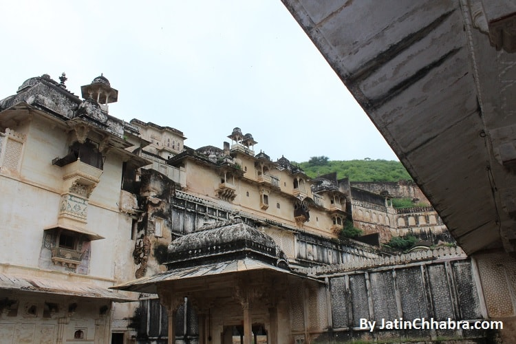 Chhatar Mahal at Bundi Palace