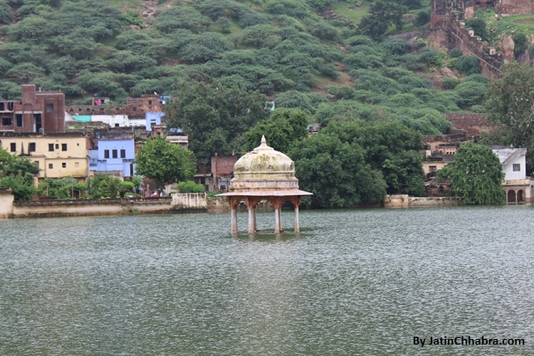 A cenotaph at Naval Sagar Lake