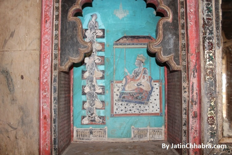 Paintings at Phool Mahal