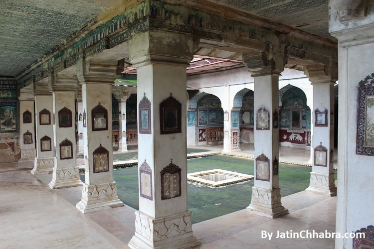 Painting room at Chitrasala