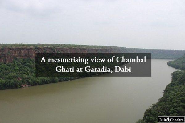 A mesmerising view of Chambal Ghati at Garadia Mahadev Temple