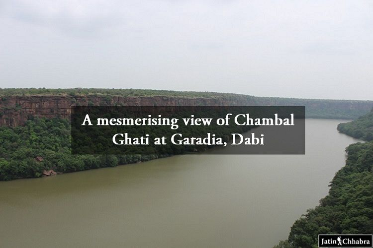 A mesmerising view of Chambal Ghati at Garadia Mahadev Temple