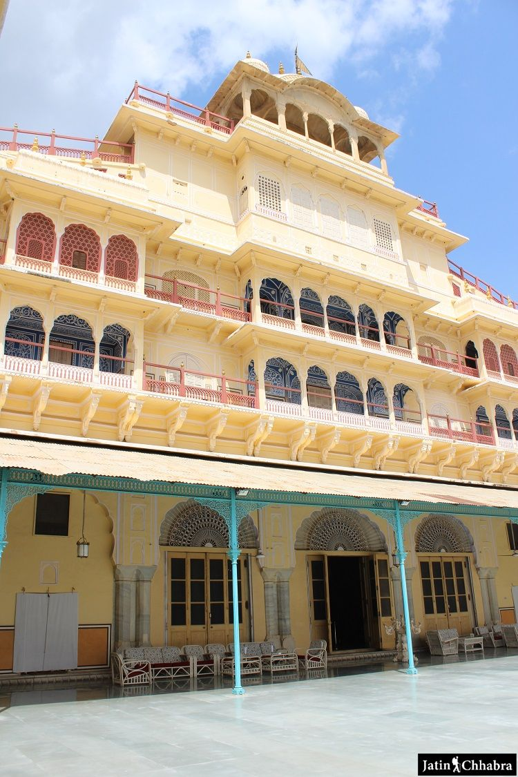 Chandra Mahal in Jaipur
