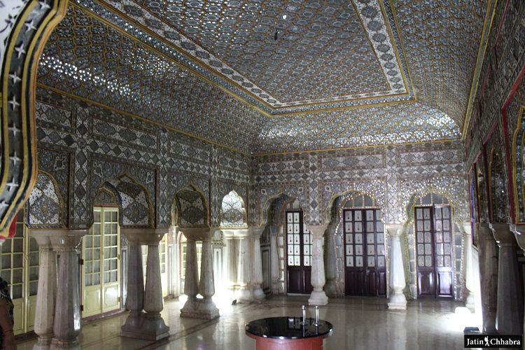 Rang Mandir at Chandra Mahal in City Palace Jaipur