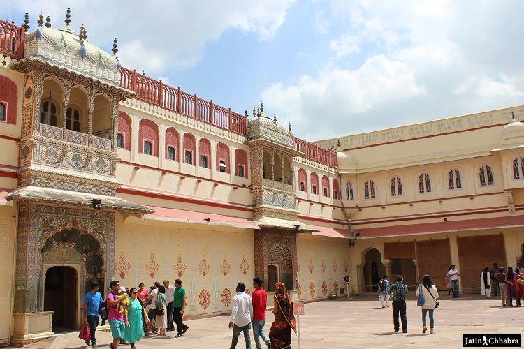 Pritam Niwas Chowk Gates at City Palace Jaipur