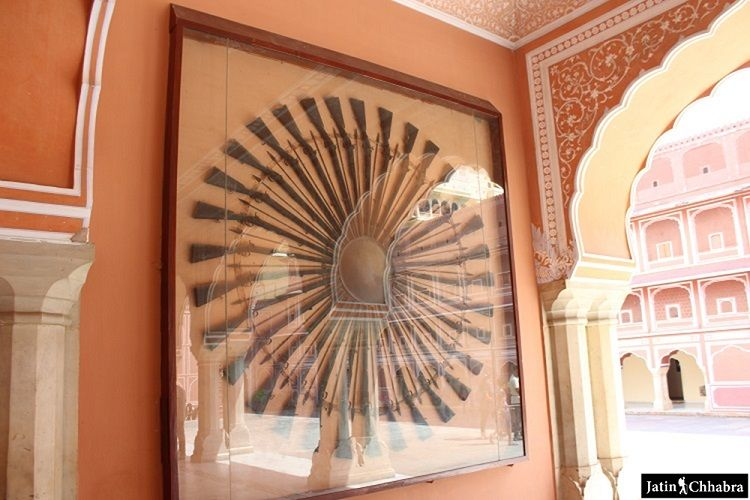Rifles Wall Hanging at diwan-i-aam
