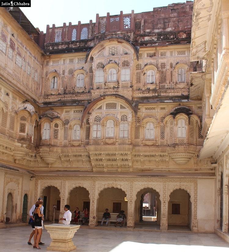 Way towards Moti Mahal Jodhpur