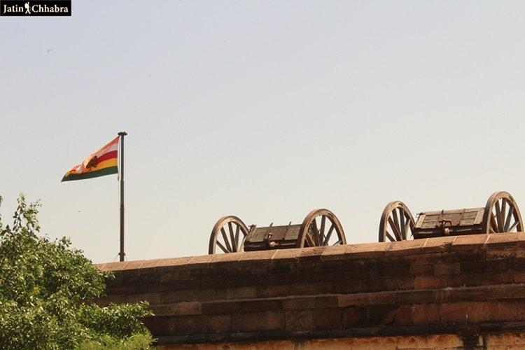 Cannons at Mehrangarh Fort Jodhpur