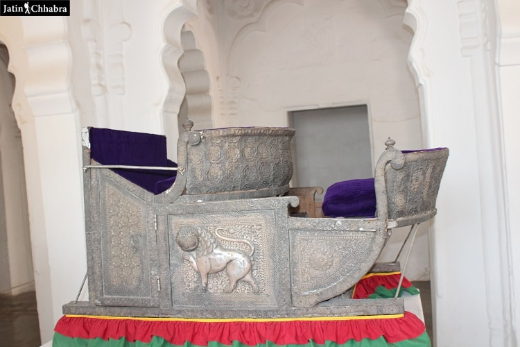 Elephant Howdah at Mehrangarh Fort Jodhpur
