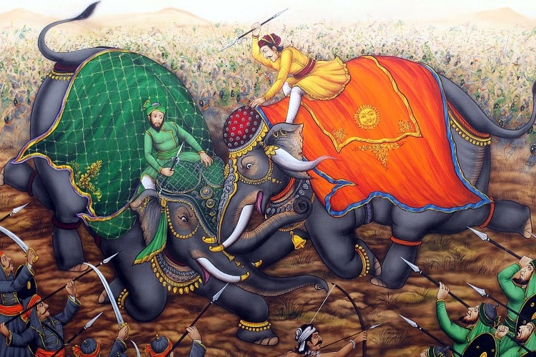 Mughals vs Rajputa of Marwar