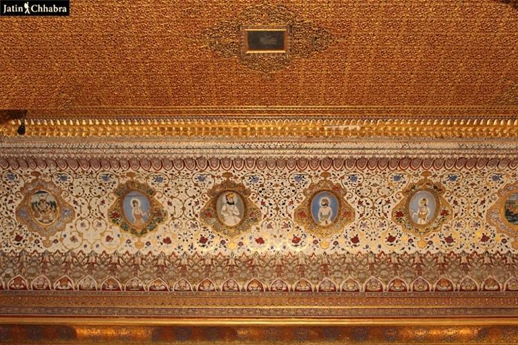 Paintings ar Phool Mahal Jodhopur