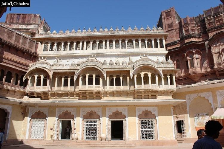 Shringar Chowk at Mehrangarh Fort