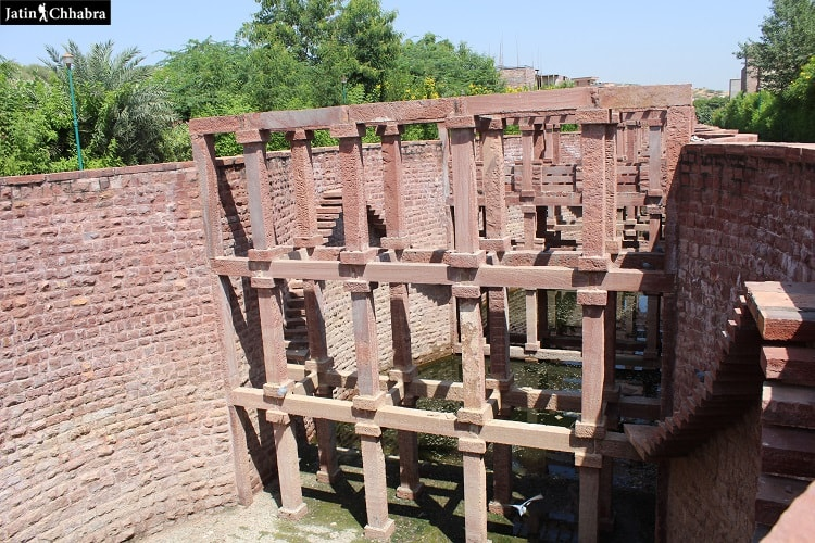 Structure of Birkha Bawri