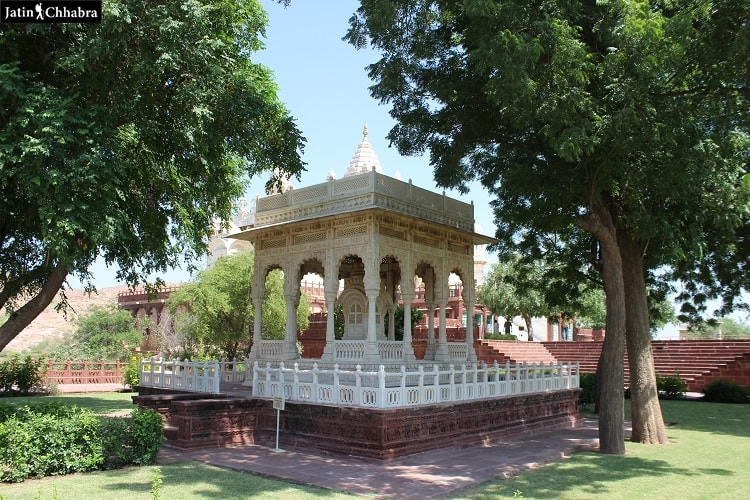 First cenetoph at Jaswant Thada