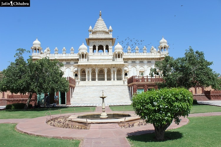Straight View of Jaswant Thada