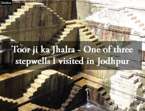 Toor ji ki Baori or Toor ji ka Jhalra – One of three stepwells I visited in Jodhpur