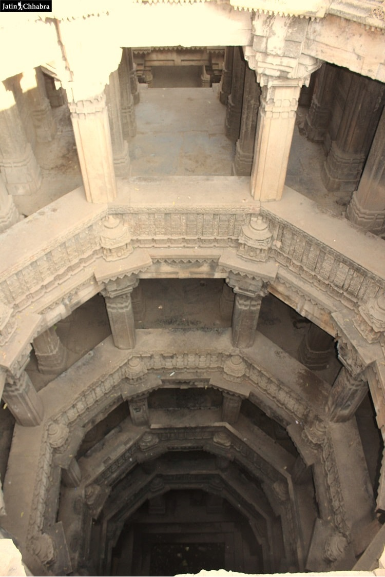 Dada Harir Vav from upper groud