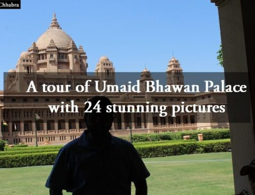 A tour of Umaid Bhawan Palace with 24 stunning pictures