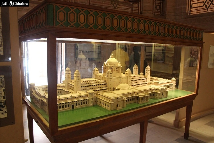Model of Umaid Bhawan Palace