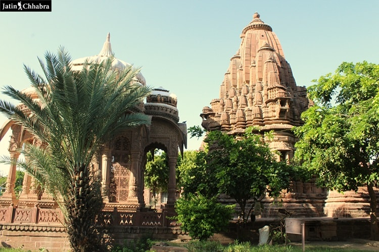 1st temple I saw at Mandore Garden