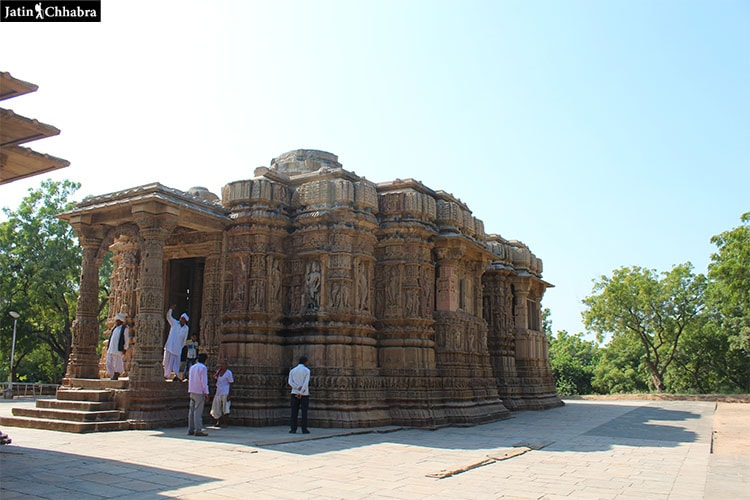 Garbhagriha Complex of Modhera Sun Temple