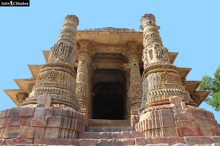 Garbhagriha complex at Modhera Sun Temple