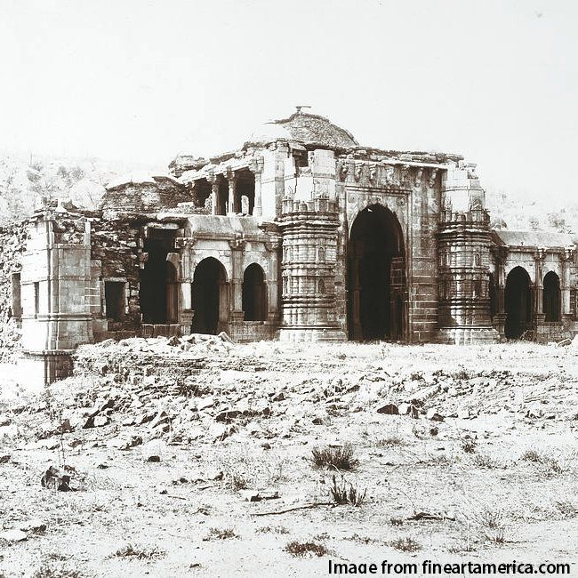 Orignal snap from 19th century Champaner
