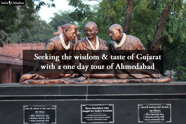 Seeking the wisdom & taste of Gujarat with a one day tour of Ahmedabad