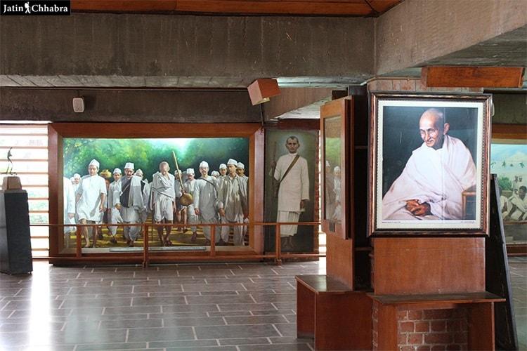 Picture gallery in Sabarmati Ashram