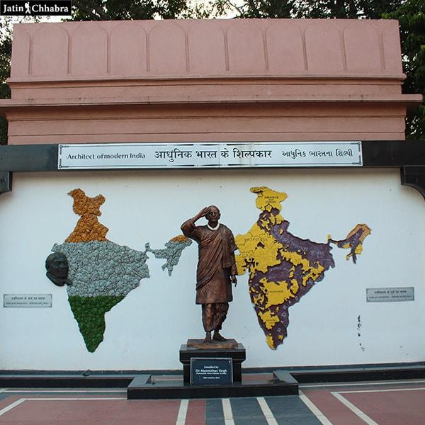 Sardar Patel statue outside his Mesuem