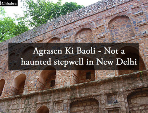 Agrasen Ki Baoli – Not a haunted stepwell in New Delhi