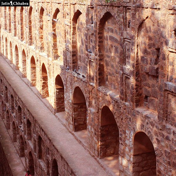 Arch gates of Agrasen ki Baoli