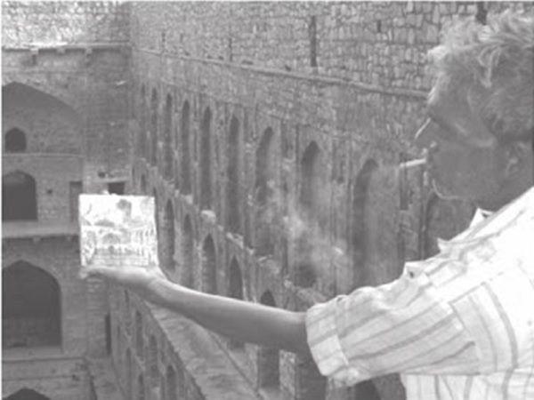 Bagh Singh at Agrasen Ki Baoli