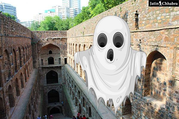 Ghosts at Agrasen ki Baoli