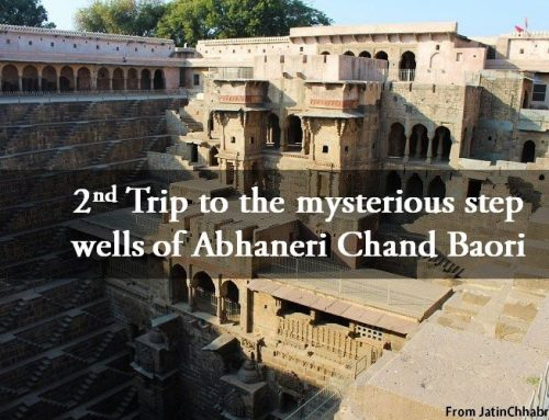 Trip to the mysterious step wells of Abhaneri Chand Baori