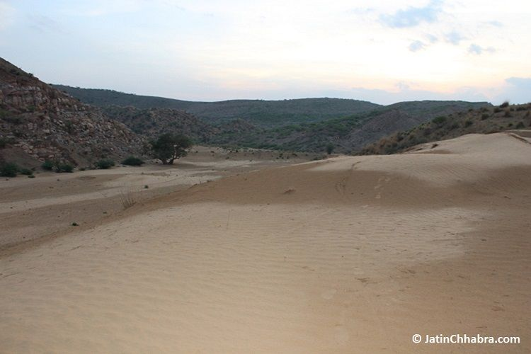 Side 1 of Chhabra sand dunes