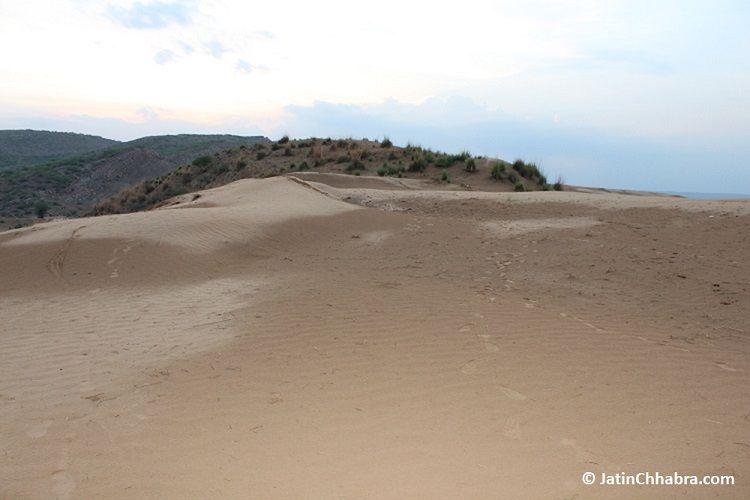 Side 2 of Chhabra sand dunes