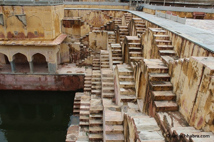 Step wells of Panna Meena ka Kund