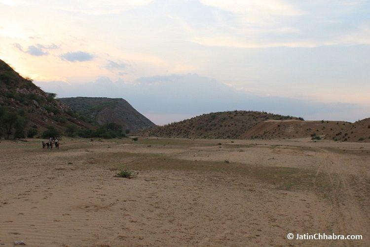 60 meter sand dunes