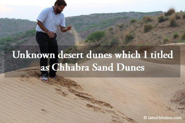 Chhabra Sand Dunes