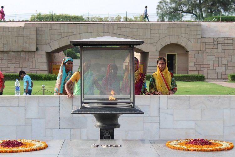 Gandhi's Samadhi