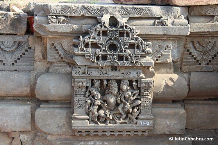 Harshat Mata Temple artifacts