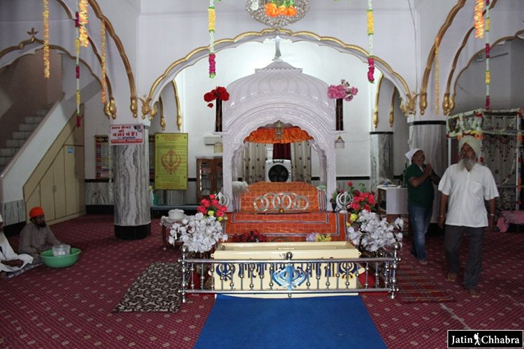 Granth Sahib at Bhagat Dhanna Gurdwara